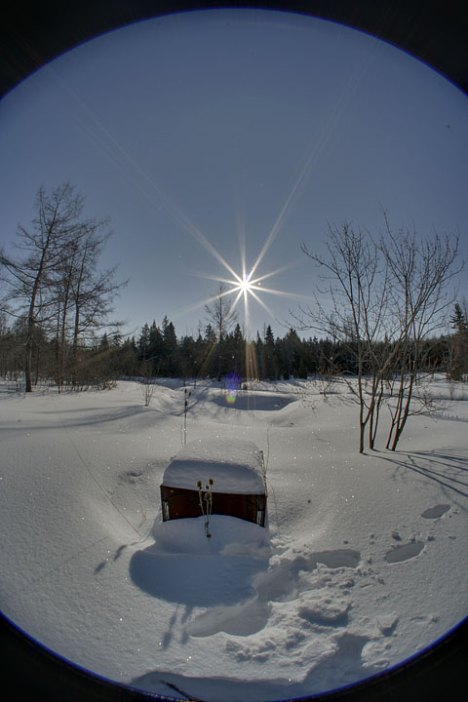 Enfused Sun and Snow