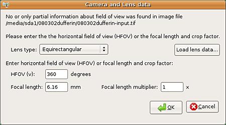equirectangular lens