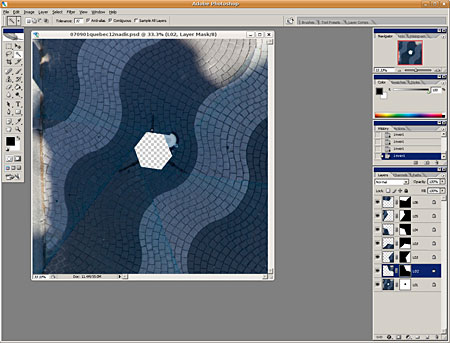 nadir layer edit photoshop