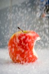 Apple under the Shower