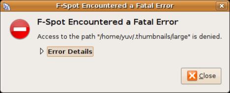 f-spot_fatal